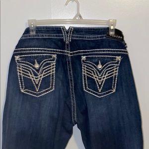 Vigoss   New York Bootcut Blue Jeans